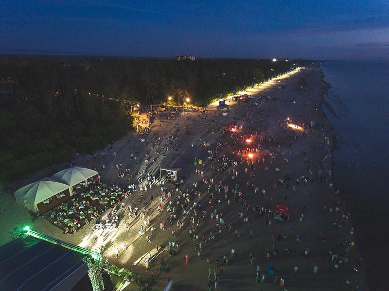 Jurmala Ligo night -  beach