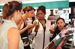 Makeup shopping and lessons