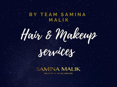Team Samina Malik Hair & Makeup