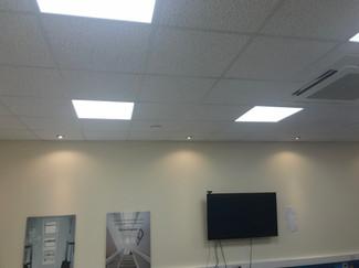 LED Panels in an Office in Folkestone