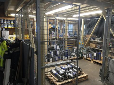 Warehouse Lighting in Folkestone