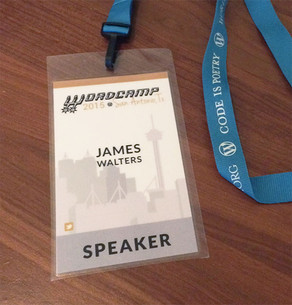 I got to speak at Wordcamp San Antonio!