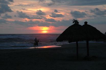 Horseback at Sunset