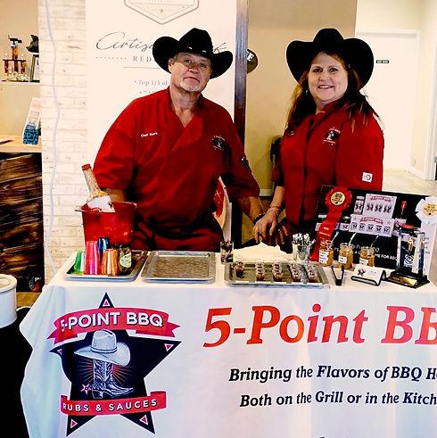 Steve and Catherine Meiselbach, 5-Point BBQ