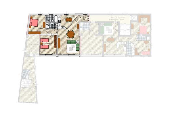 Cascina Mascheda appartamento in vendita