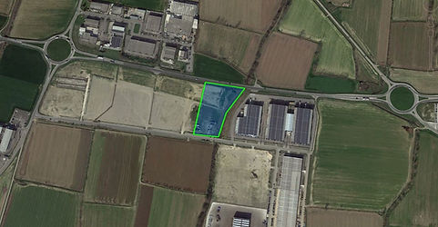 parco logistico Offlaga, soldi ferdinando srl, lotto 2 Ciniago di Offlaga, area in vendita