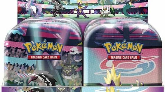 Galar Pokemon Mini Tins