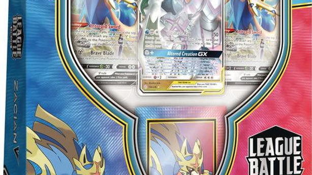 Pokemon TCG Zacian V League Battle Deck