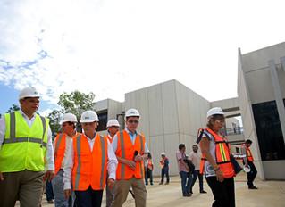 Gobernador supervisa avance en la construcción de la UPY