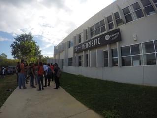 """Alumnos de la UPY visitan el Centro de Innovación """"Heurístic"""""""