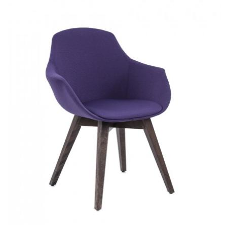 Rouillard Ely Wood Leg Side Chair