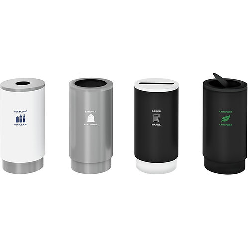 Magnuson Group Cirkel Waste Receptacles