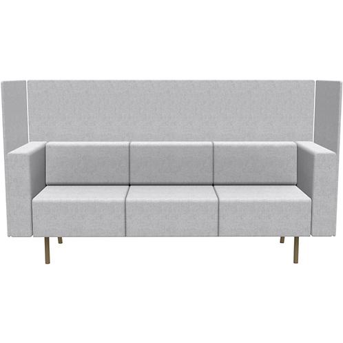 Allseating Exchange Linear Sofa Enclosure