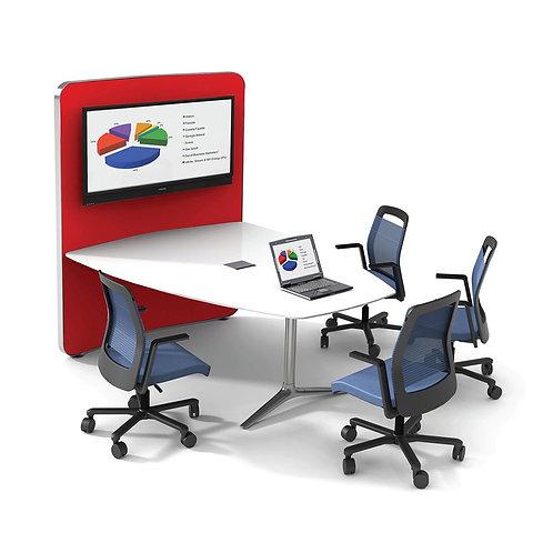 nienkamper Gateway Media Wall Conference Table