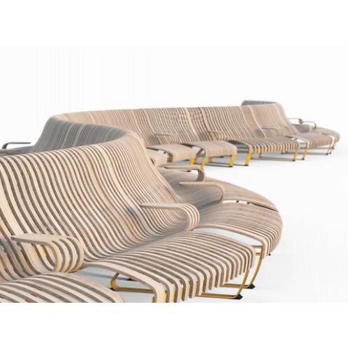 Green Furniture Nova C Double Recliner Outdoor