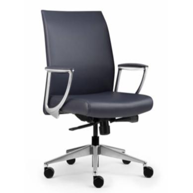 Allseating Zip Upholstered Midback Meeting Room Chair