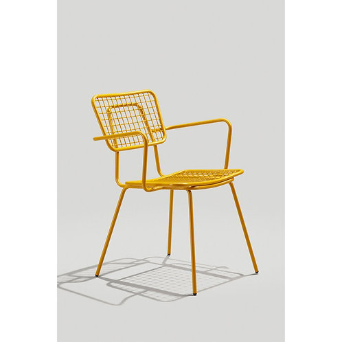 Grand Rapids Opla Side Chair Arms Outdoor