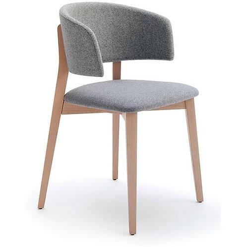 Tusch Seating Billiani Wrap Side Chair