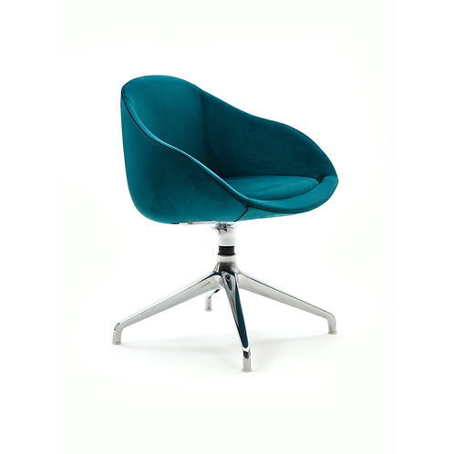Naughtone Always 4 Star Base Side Chair