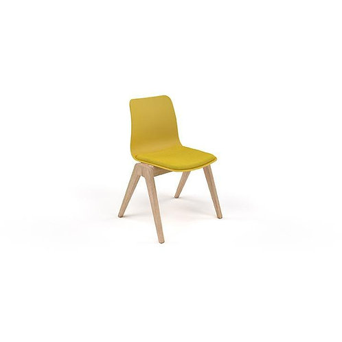 Naughtone Polly-Wood no Arms Side Chair