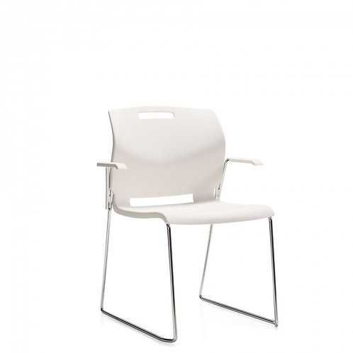 Global Popcorn Stacking Chair