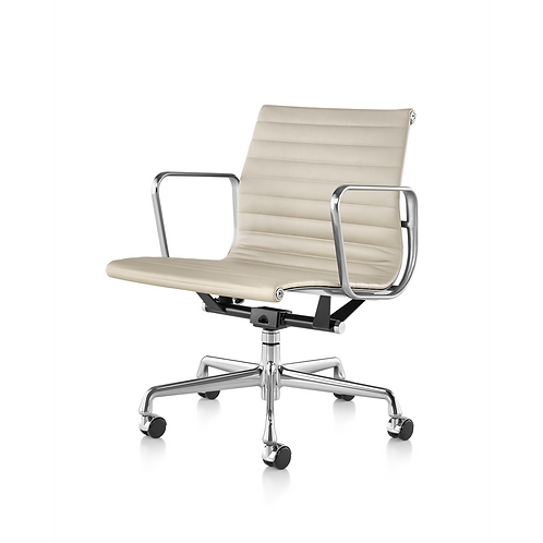 Herman Miller Eames Aluminum Group Low Back Meeting Room Chair
