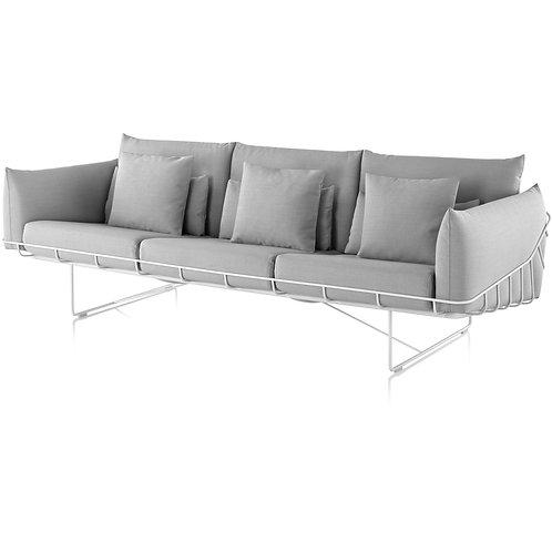 Herman Miller Wireframe Sofa 3 Seater