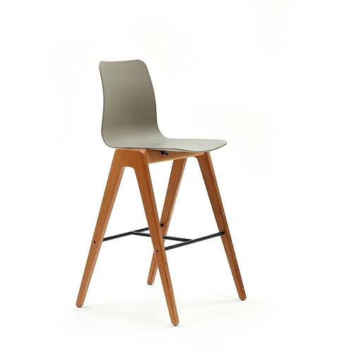 Naughtone Polly-Wood Bar Height Stool