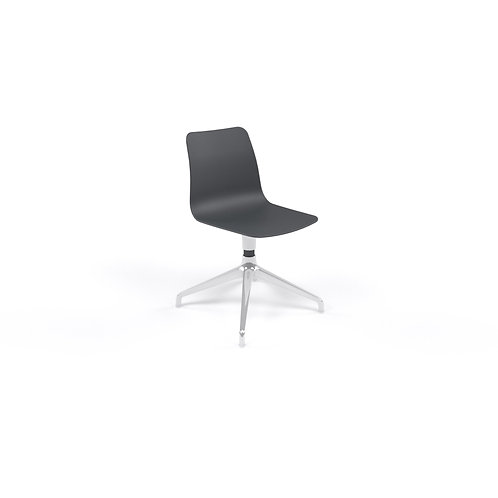 Naughtone Polly 4 Point Base without Arms Side Chair