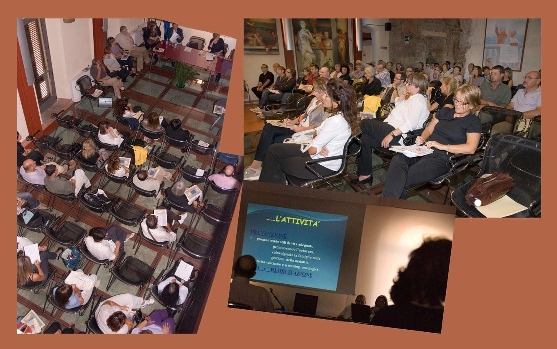"""Convegno """"Il rispetto di noi stessi e degli altri, un percorso di vita: le Cure Palliative"""" organizzato da FIDAPA San Vincenzo-Val di Cornia - Torre di San Vincenzo 26 settembre 2009"""