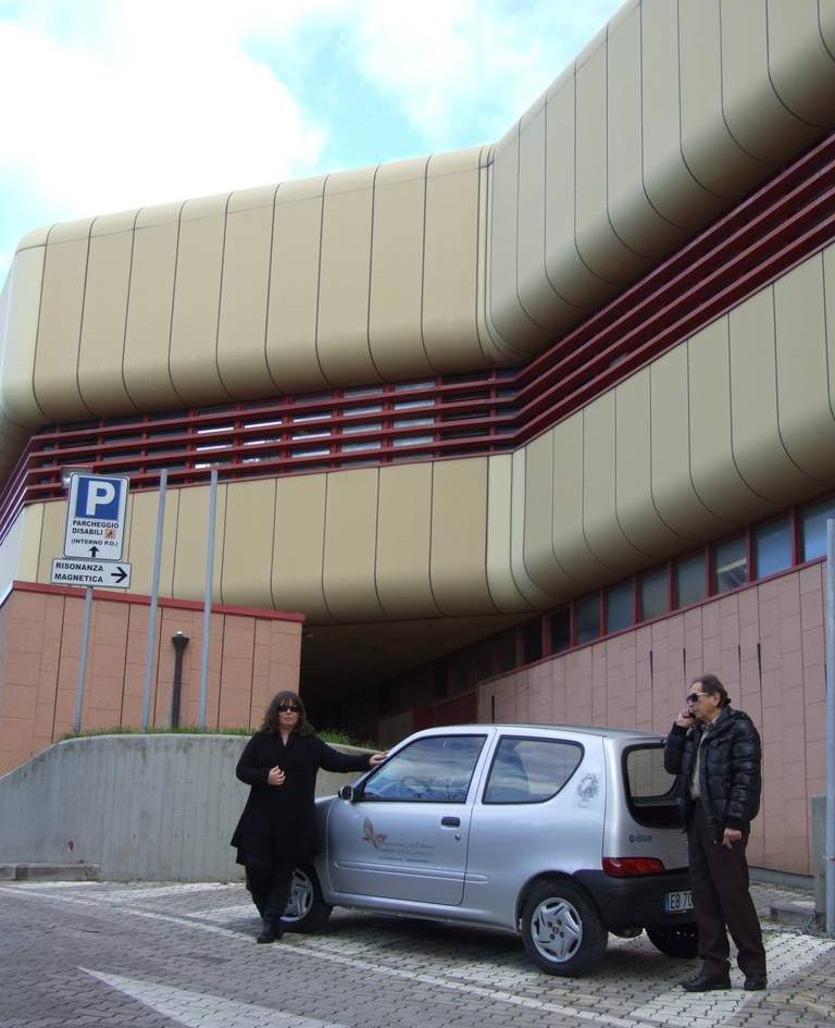 Auto acquistata con contributo  Fondazione Cassa Risparmi di Livorno
