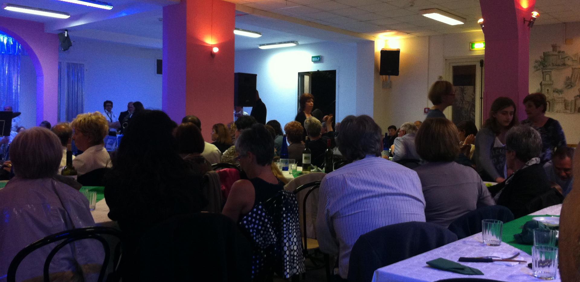 Tutti in pista con l'Associazione  Cure Palliative - Cena di beneficienza e serata danzante  - Centro CIASA Piombino 6 agosto 2015