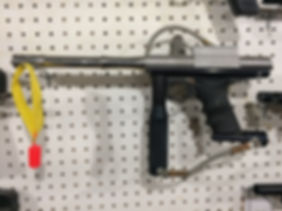AGD Automag with Gray sight rail.