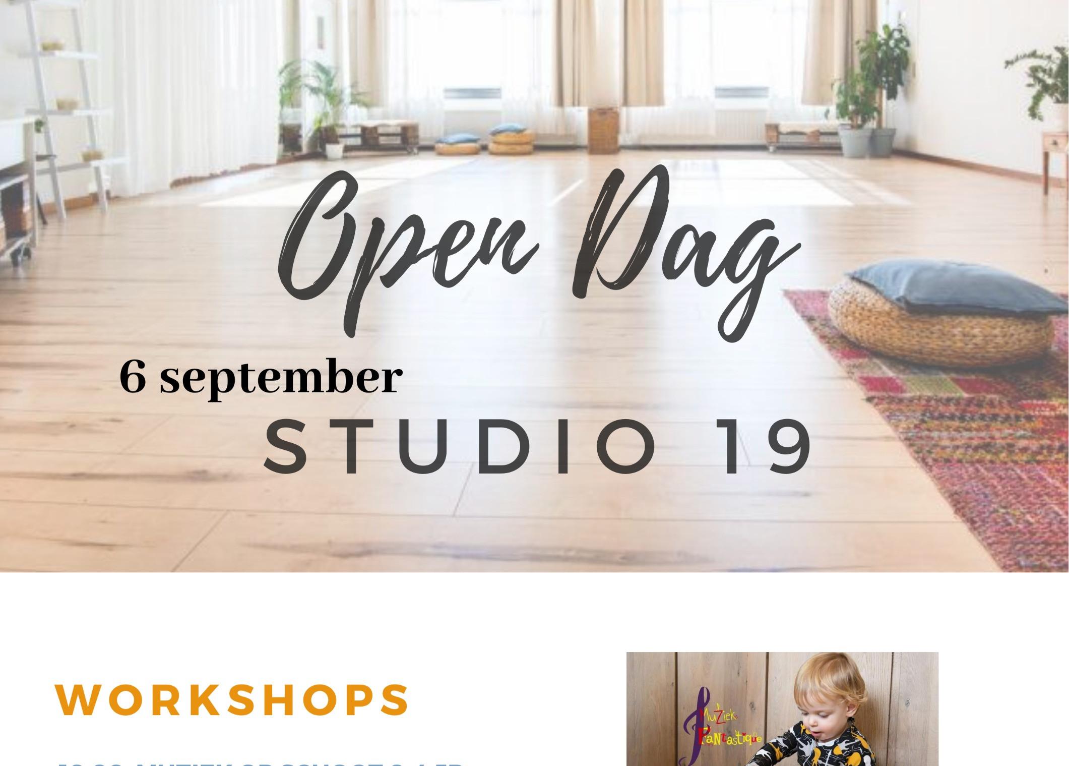 Open Dag Studio 19 Workshops