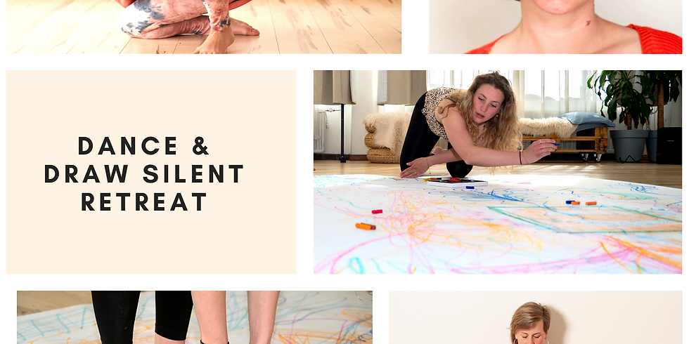 Early Bird Ticket (voor 10 mei) - Dance & Draw Silence Retreat