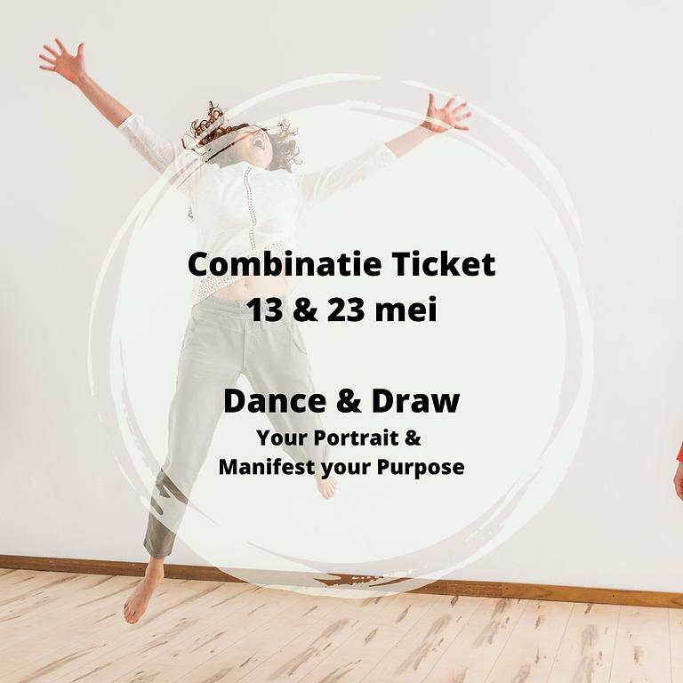 Dance & Draw Combi - 13 & 23 mei