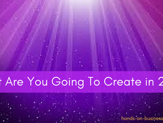 What Are You Going To Create in 2018?
