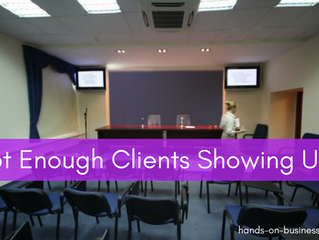 Waiting For Your Clients To Show Up?