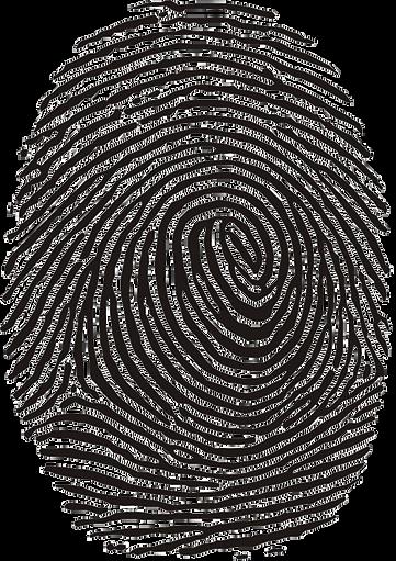 fingerprint Helen Elizabeth Evans