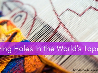 You're leaving holes in the World Tapestry