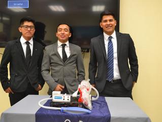 Dona la UTSLRC 7 respiradores al Hospital General de San Luis