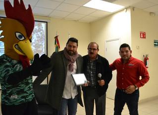 Platica motivacional con el Ex beisbolista profesional Humberto Cota Figueroa