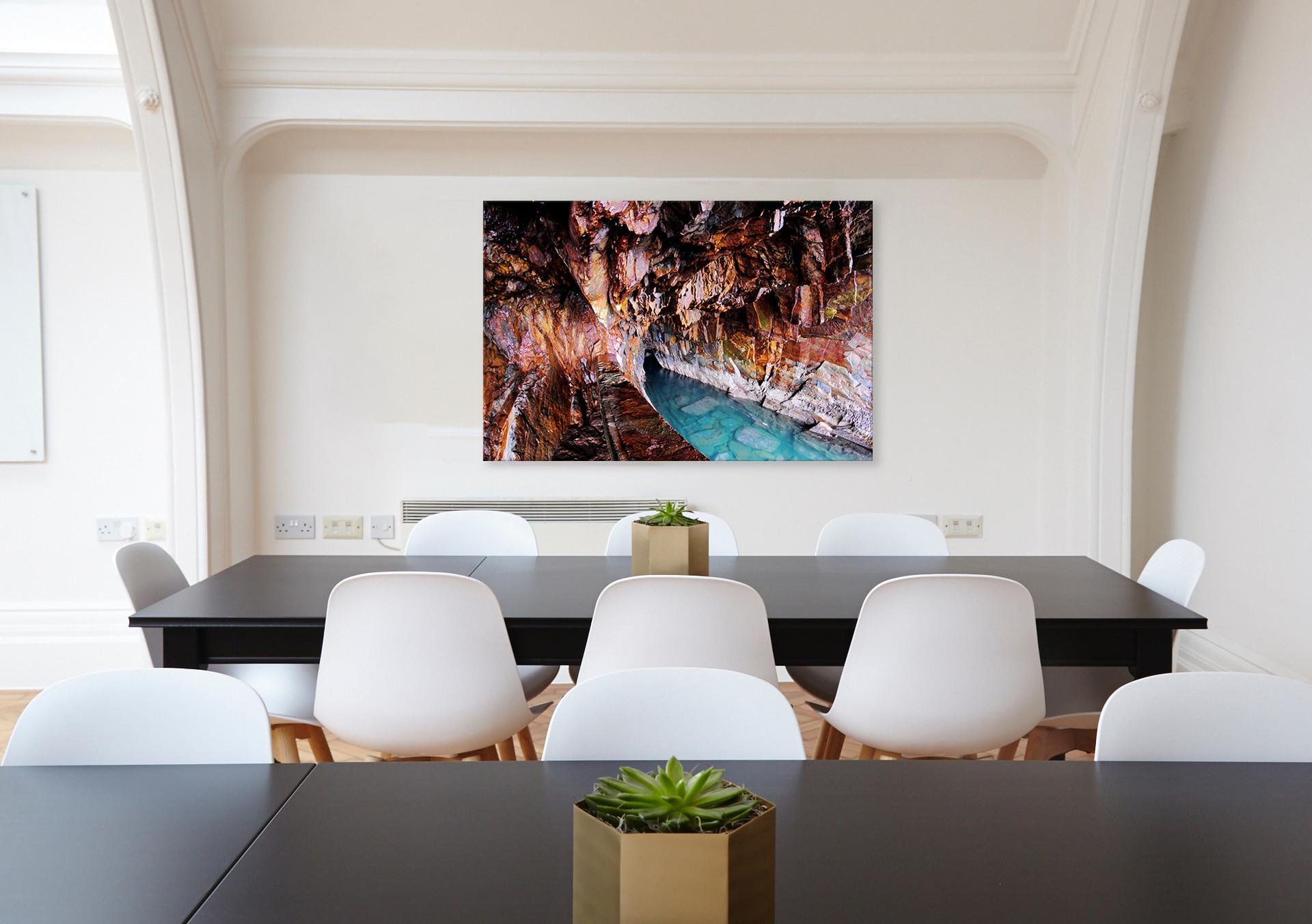 Chroma Cave - 36 x 24 - $185