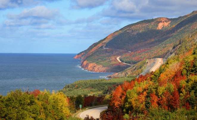 The Cabot Trail At Last