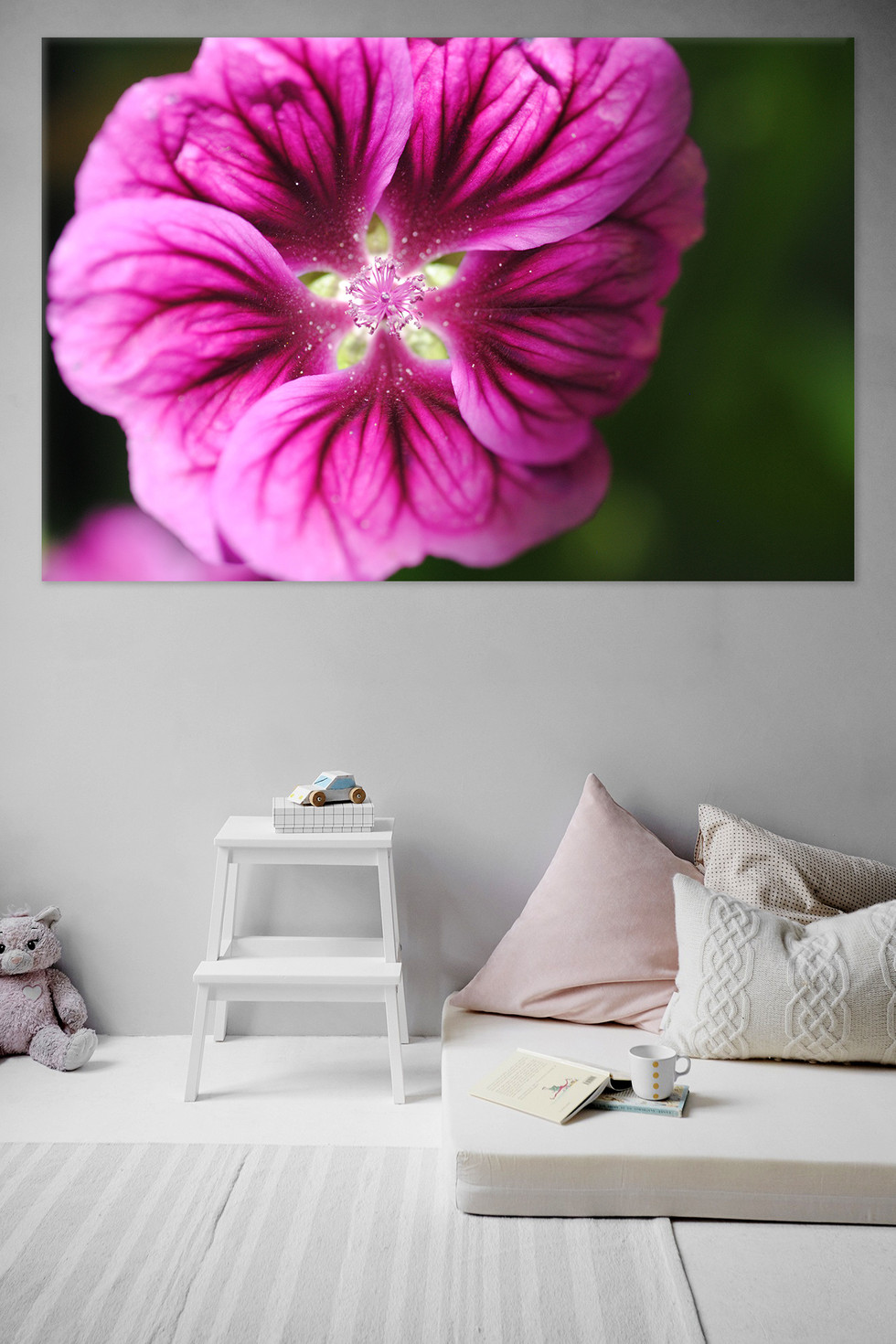 Floral Fission - 40 x 30 - $225 - Out of Stock
