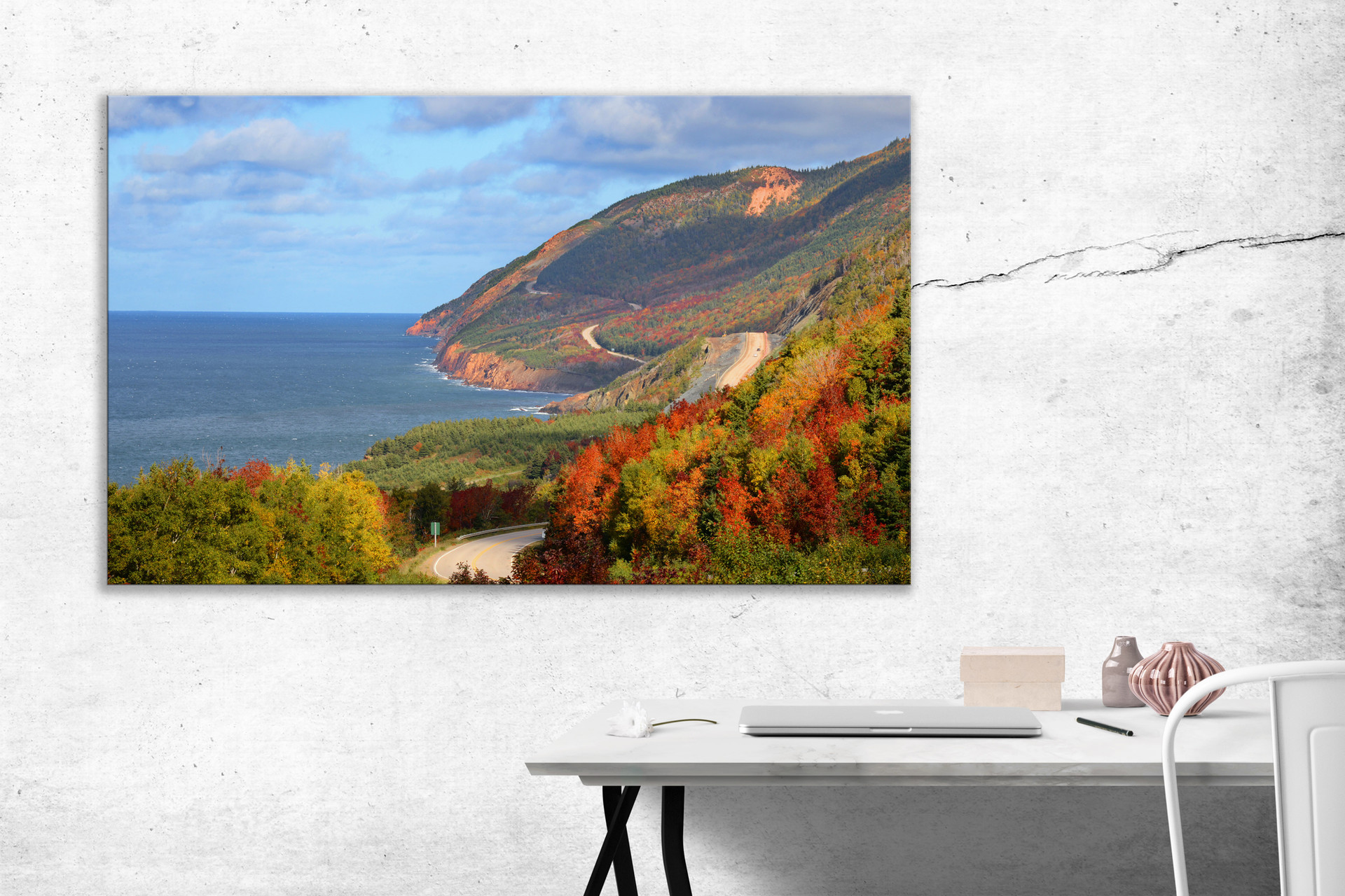 At Last The Cabot Trail - $225 - 40 x 30