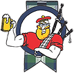 pipers-pub-piper-with-beer-and-tartan-sm