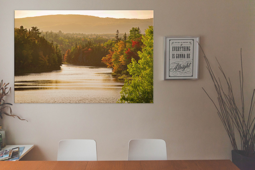 River of Gold - 36 x 24 - $185