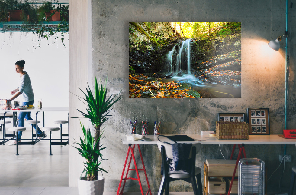 Around The Bend - $225 - 40 x 30 - Out of Stock