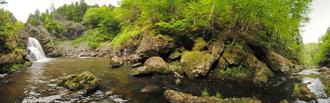 James River Waterfall, Antigonish County.
